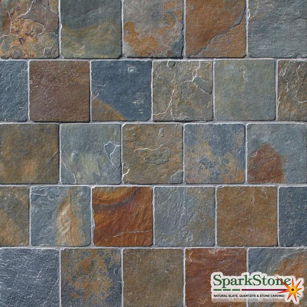 Spark Stone Llc Charcoal Terra Cotta