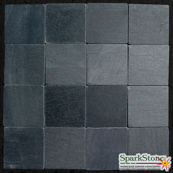 X Black Wall TilesSpark Stone LLC Tile Tumbled Luxury Wall Tiles - 6x6 black floor tile
